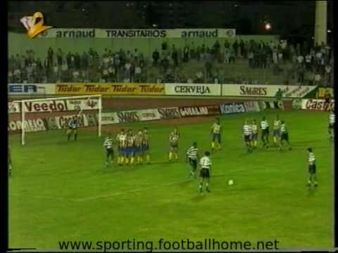 União da Madeira - 1 Sporting - 1 de 1994/1995