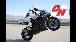 2018 Yamaha YZF-R1 and YZF-R1M Track Review - Cycle News
