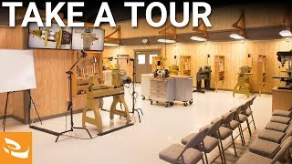Woodturning Workshops Tour At Craft Supplies Usa