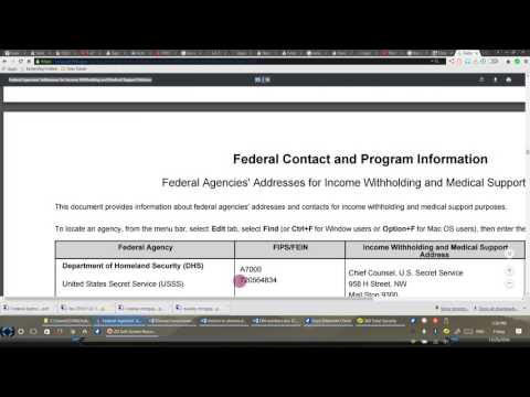 11 25 2016         FEDERAL AGENCIES TAX WITHHOLDING AND EIN INFORMATION, LAW SUIT REFERENCES