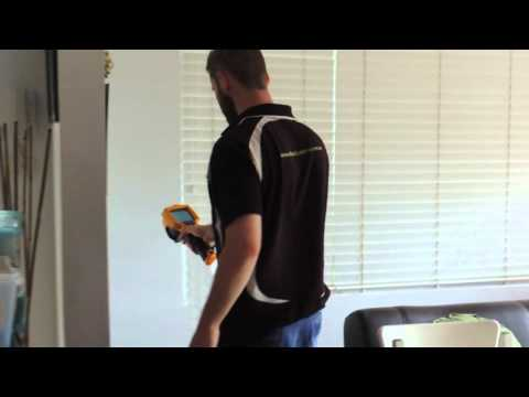 Thermal Termite Inspection (Fluke Thermographic Camera) Using Thermal Imaging