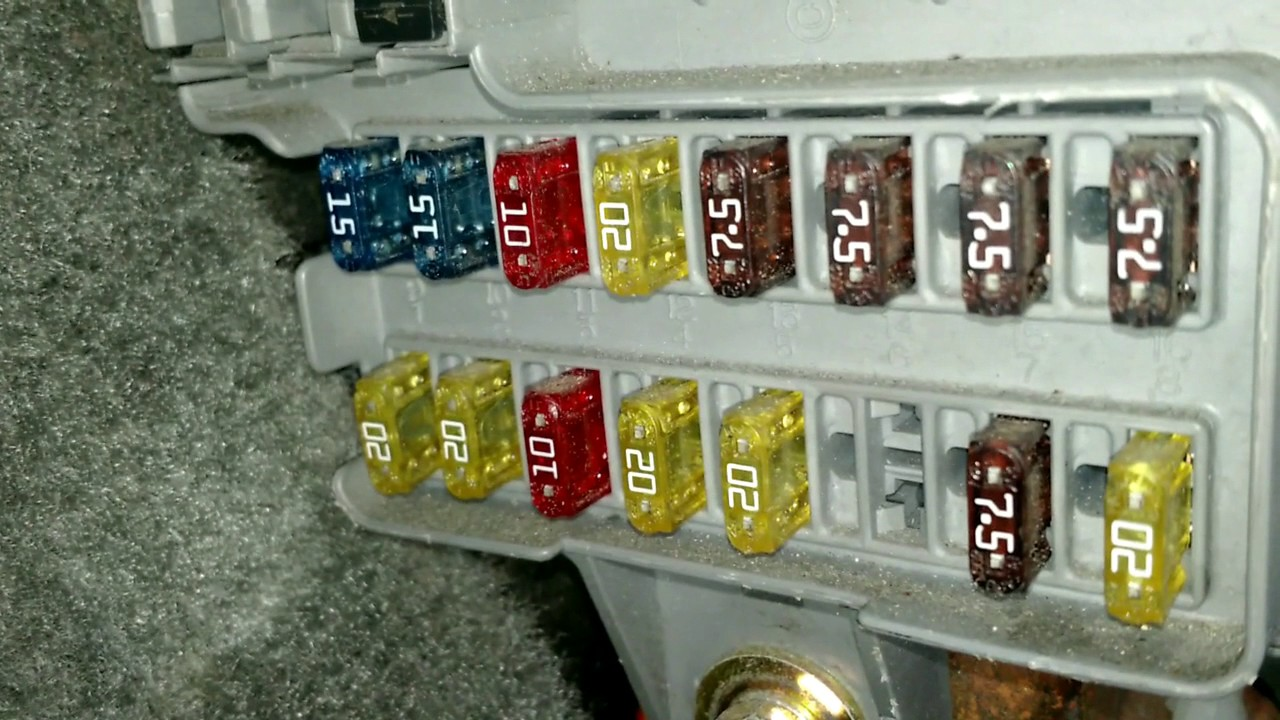 small resolution of fix radio that won t turn on honda odyssey 2004 test fuse