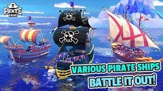 Пиратский Кодекс Морские сражения с Крутыми Капитанами! Обзор игры Детское Видео Let's Play
