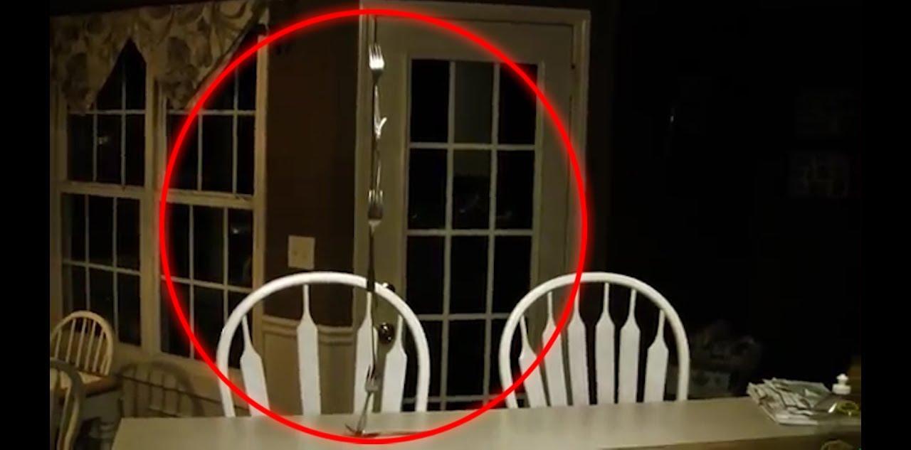 Poltergeist Caught on Tape Stacking Kitchen Utensils  YouTube