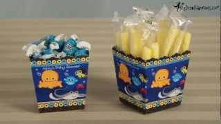 Candy Stand & Candy Boxes - Baby Shower Do It Yourself - Big Dot Of Happiness