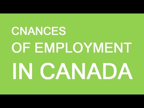 What are my employment chances in Canada? LP Group Canada