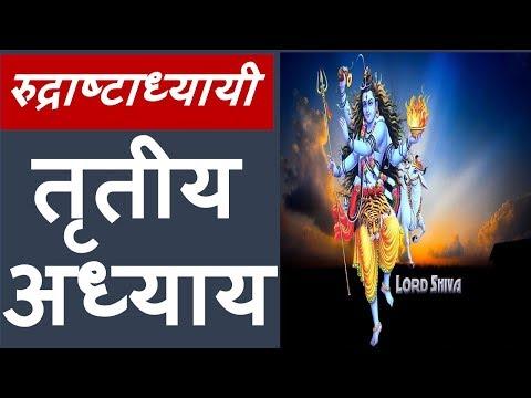 Rudri Path - Rudraashtadhyaayi | रुद्री पाठ - रुद्राष्टाध्यायी | chapter 3