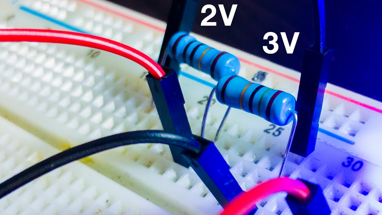 Make A Voltage Divider Simply Making Youtube Simple Circuit