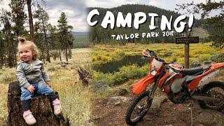 CAMPING!  Taylor Park, Colorado 2018