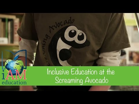 Inclusive Education at the Screaming Avocado