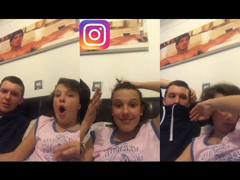 Millie Bobby Brown & Charlie Brown - Instagram Live Q&A 03-08-17