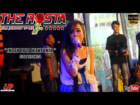 INDAH PADA WAKTUNYA ~ ELDA VERONICA ~ THE ROSTA LIVE SMAN 1 PARE 2018 [music Video]