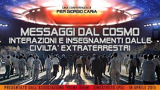 MESSAGGI DAL #COSMO: interazioni e #insegnamenti dalle civiltà #extraterrestri - GINESTRETO (PU)