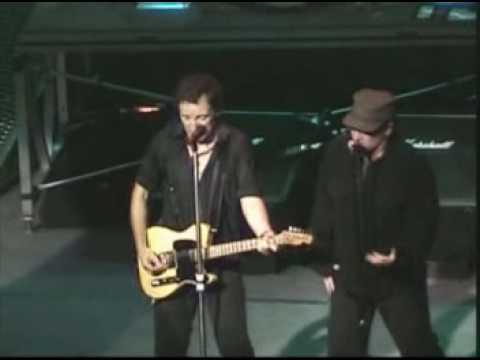 BONO, Eric Clapton, Bruce springstein