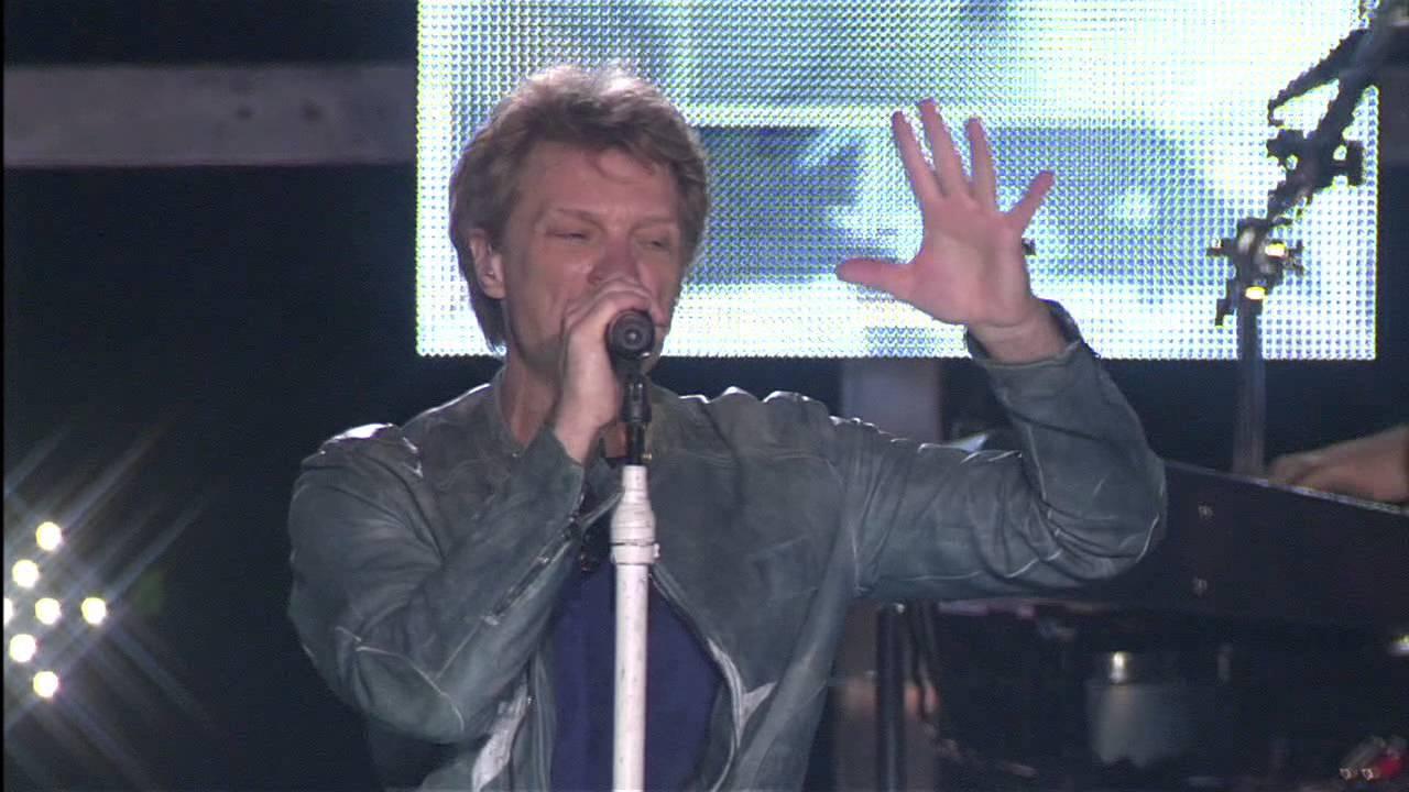 Bon Jovi Live – You Give Love A Bad Name