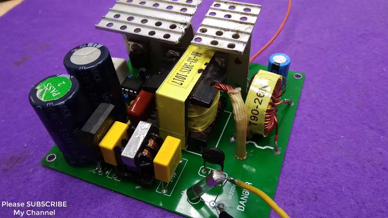 small resolution of 220v to 24v 15a power supply switching power supply pcb schematic ir2153