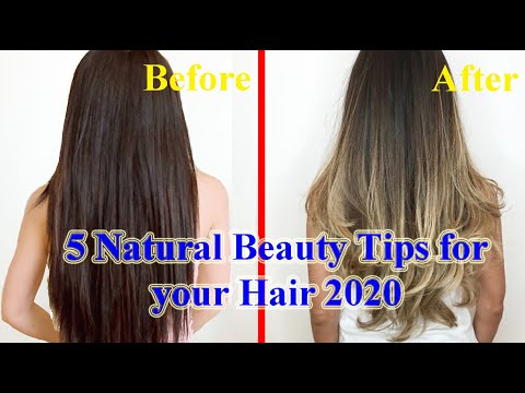 5 Natural Beauty Tips For Your Hair 2020