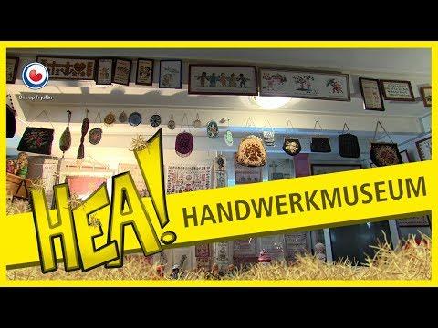 HEA! Meer dan 100 borduurwerken in Albertje haar museum