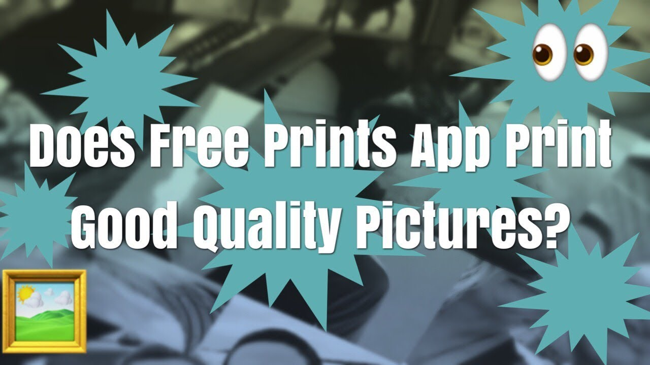 does the free prints