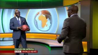 KOMLA DUMOR SKILLS BBC FOCUS ON AFRICA