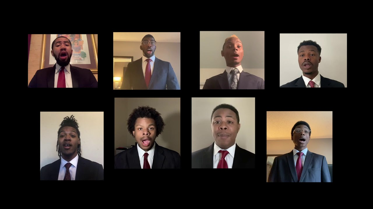 Connecting with Purpose 2020 - Morehouse Glee Club Performance