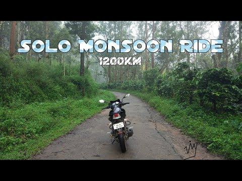 Solo Monsoon Ride | Trailer | 1200 km |...