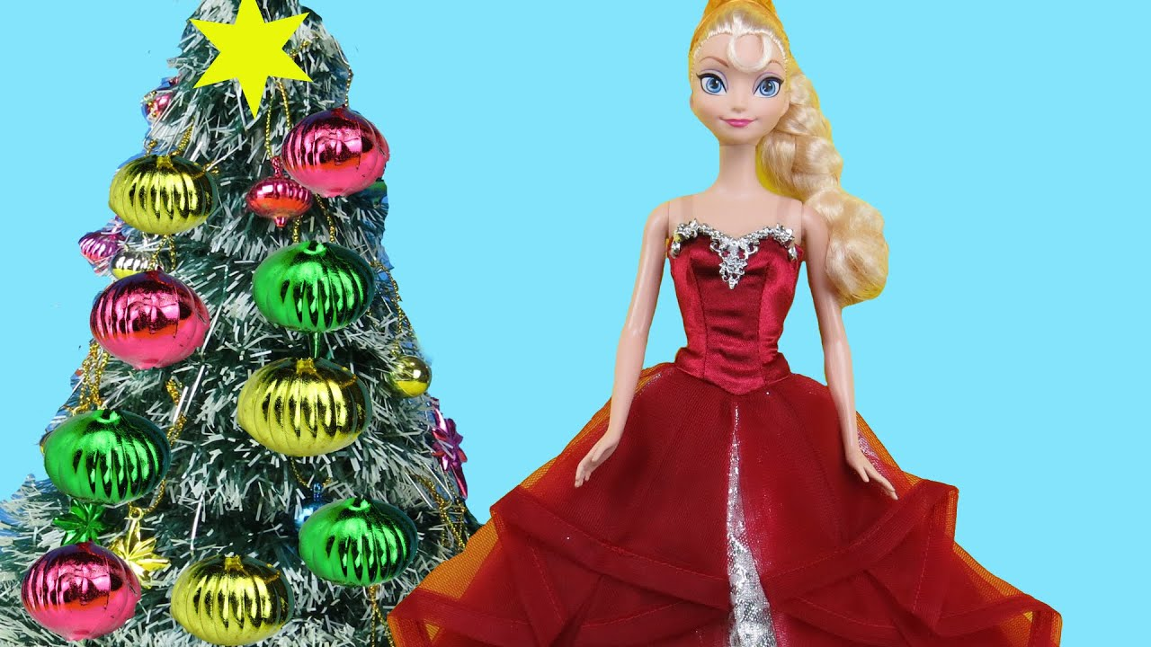 christmas tree decorating elsa and anna toddlers make wish lists for santa sing carols have fun youtube - Elsa Christmas Decoration