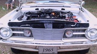 1965 Plymouth Barracuda Wht MDora051312