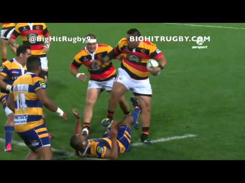 Big Hit Rugby Videos, Massive Fend Offs