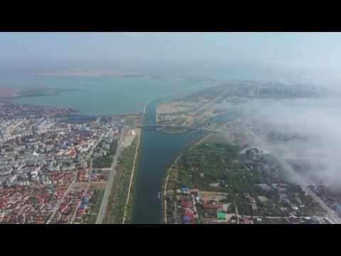 Survol peste partea nordică a Canalului Poarta Albă - Midia Năvodari -  YouTube