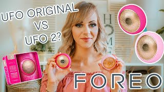 FOREO UFO 1 vs UFO 2 - Which Is Best? Honest Review, Unboxing & Product Demonstration | Lady Writes