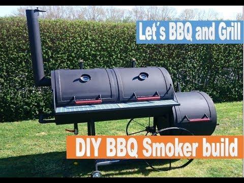 DIY Barbecue Smoker Build