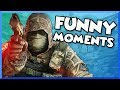 Rainbow Six Siege Funny Moments - Surfing Glitch, Daddy's Milk, Grenade Fail, and Epic 1v5 Clutch!