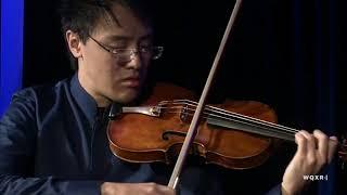 Max Tan performs the Ciaccona from Bach's Partita No.2 for Solo Violin in D minor