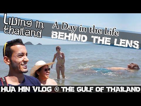 HUA HIN BEACH, GULF OF THAILAND VLOG - LIVING IN THAILAND-(ADITL EP49)