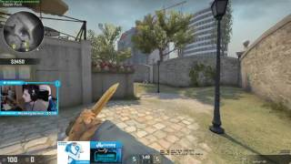 Shroud Plays ESEA Rank S 20170202