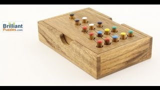 Last Fighter - Wooden Brain Teaser Puzzle