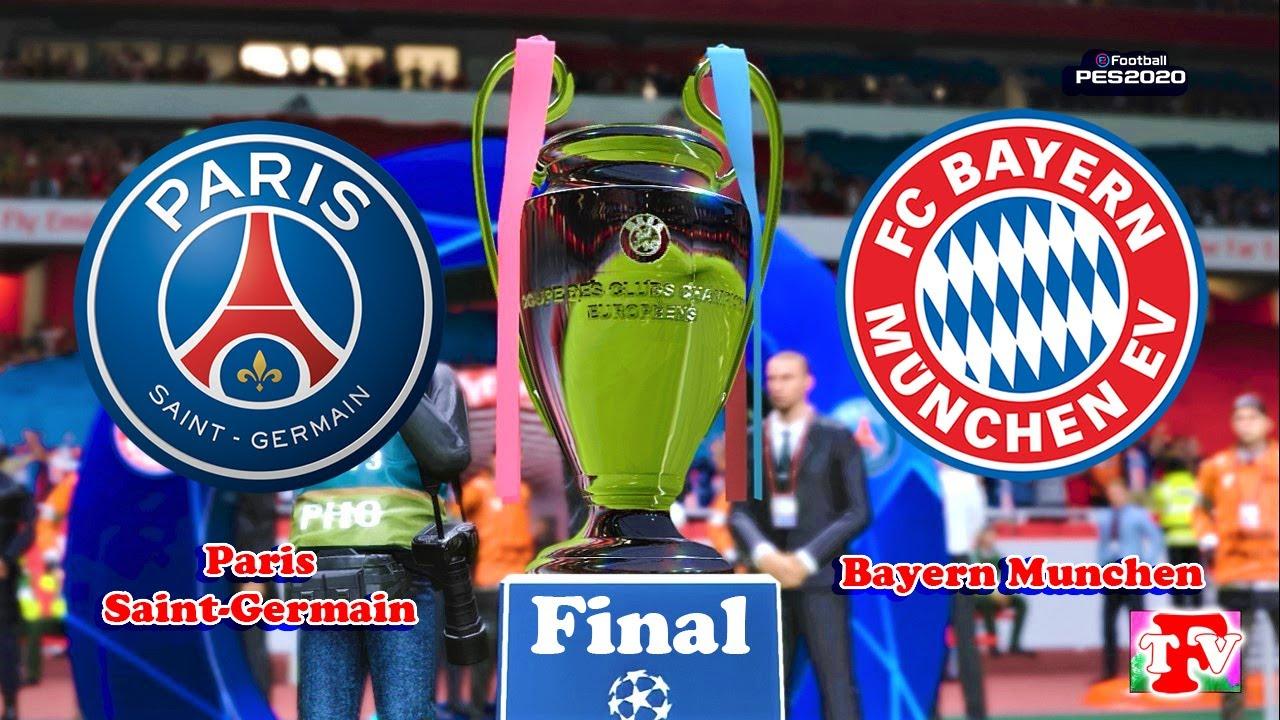 Psg Vs Bayern Munich Uefa Champions League 2020 Final Gameplay Youtube