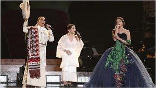 Aída Cuevas, Ángela Aguilar y Natalia Lafourcade brillan en los Grammy (VIDEO)