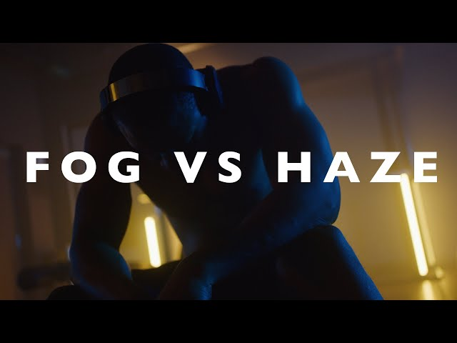 Difference between Fog and Haze