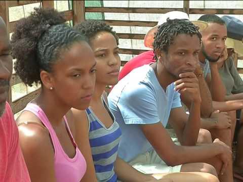 COB in the Cabo Verde National News! COB na TCV Jornal de Noite!