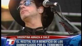 Gustavo Cerati - Av. Alcorta (Argentina Abraza A Chile 2010)