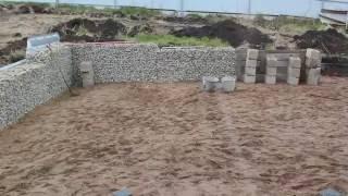 Как сделать забор из камня своими руками: инструкция, фото, видео