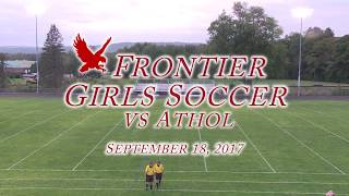 Frontier Regional School Girls Soccer vs Athol 9/18
