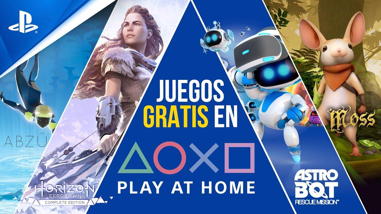 JUEGOS GRATIS con Play At Home: Horizon Zero Dawn Complete Edition y muchos más | PlayStation España