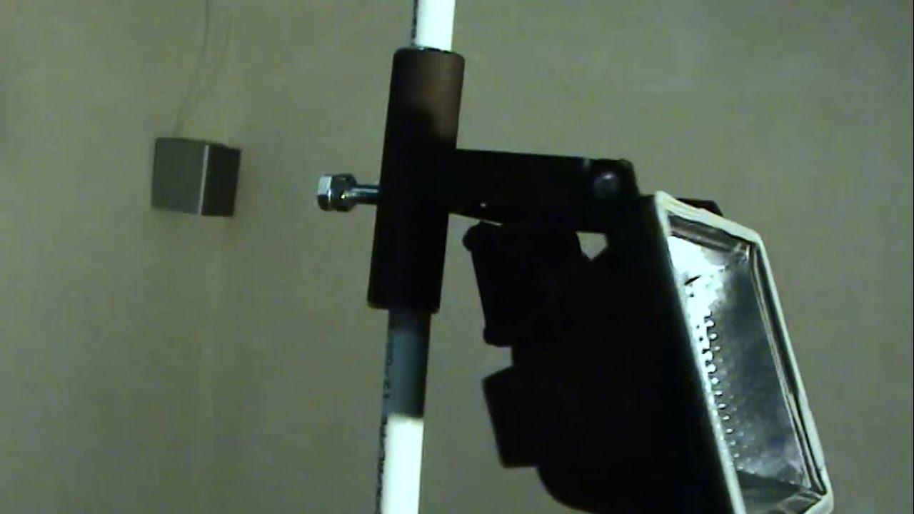 Стойка для прожекторов своими руками