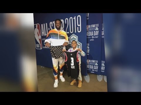 Young Dylan with LeBron James, Steph Curry, and More at NBA All-Star Weekend!