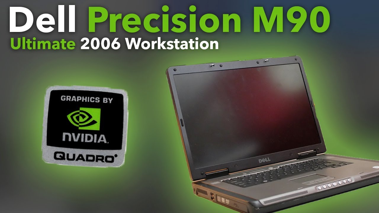 The Ultimate Mobile Workstation of 2006 (Dell Precision M90)