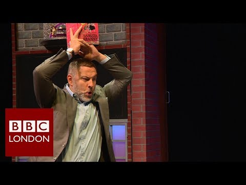 David Walliams 'Gangsta Granny' interview - BBC London News