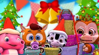 Deck The Halls | Christmas Songs For Toddlers | Xmas Videos For Kids | Cartoons by Little Treehouse